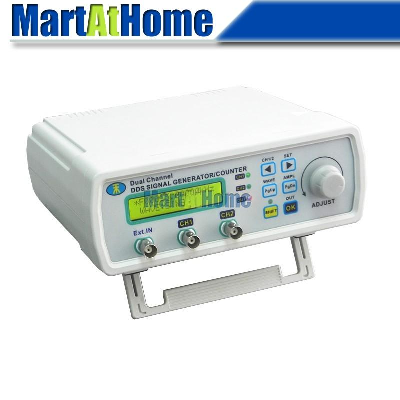 Free Ship High-precision DDS Signal Generator 25MHz 2CH LCD Arbitrary Waveform Sine/Square Wave+Sweep+Frequency Meter #BV306 @CF