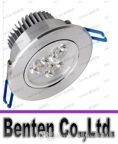 Faretto a incasso da incasso a soffitto 3W 6W 9W Lampada da soffitto dimmerabile AC85-265V Bianco / Bianco caldo Faretto a LED da incasso in alluminio LLFA185