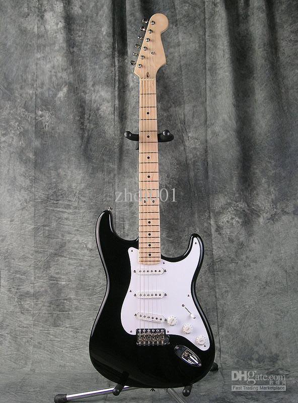 Custom Shop Eric Clapton Signature Black Electric Guitar Blackie Strat Ocaster Electric Guitar Maple Fingerboard Dot Inlay White Pickguard Cost Of Electric Guitar 12 String Electric Guitars From Ac Dc 154 04 Dhgate Com