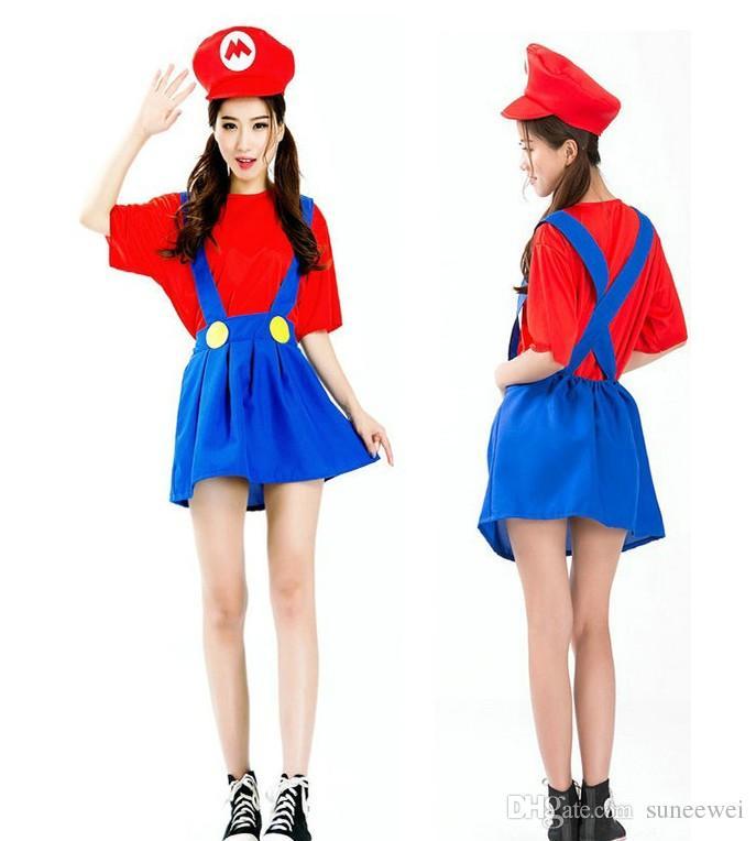 mario and luigi costumes girls
