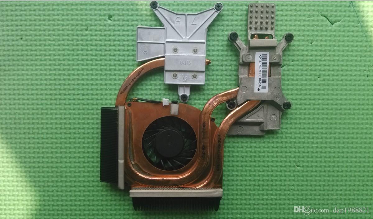 refroidisseur pour HP DV6 DV6-2000 DV6-2100 dissipateur de chaleur CPU avec ventilateur 600868-001 579158-001
