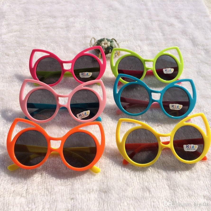 Fashion Kids Summer Sunglasses Goggles For Baby Sun Glasses Eyewear For Children Girls Boys Wholesale Free Shipping