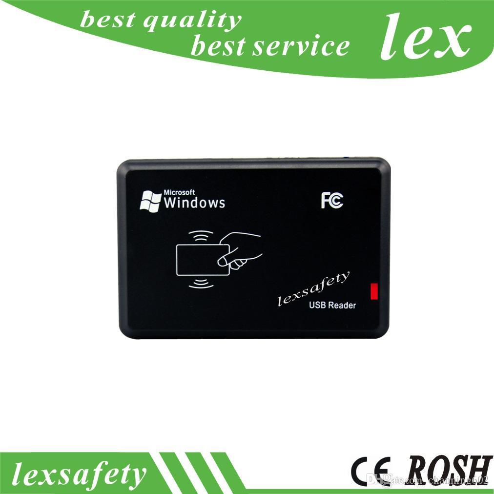 13.56MHZ Sans contact IC CPU Card Reader Writer, SmartCard Writer Reader Support CPU, NFC, M1, S50, MDESFire, Carte Ultralight Readwrite