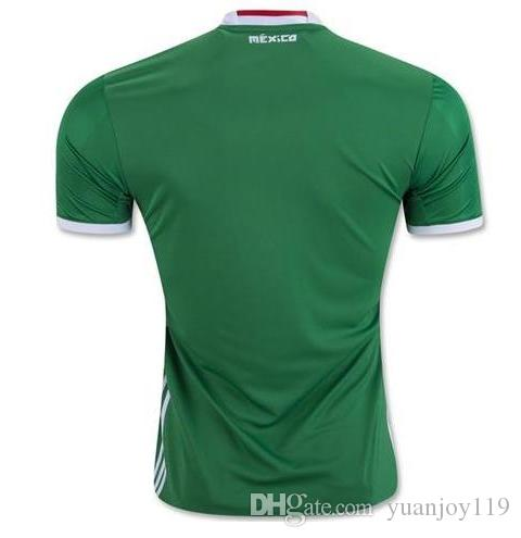 2019 Top Quality 2016 2017 Mexico Green Soccer Jersey 2017 Mexico ... 7c4890023d2a4
