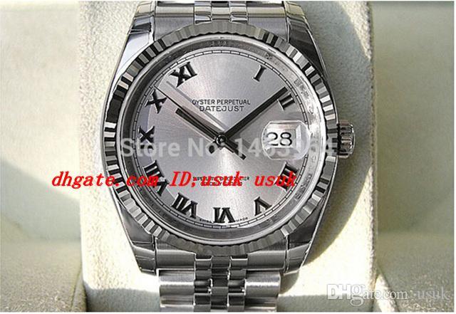 Fabriklieferant Luxus Armbanduhr 116234 Automatische Edelstahl Saphirglas Herrenuhr Uhren