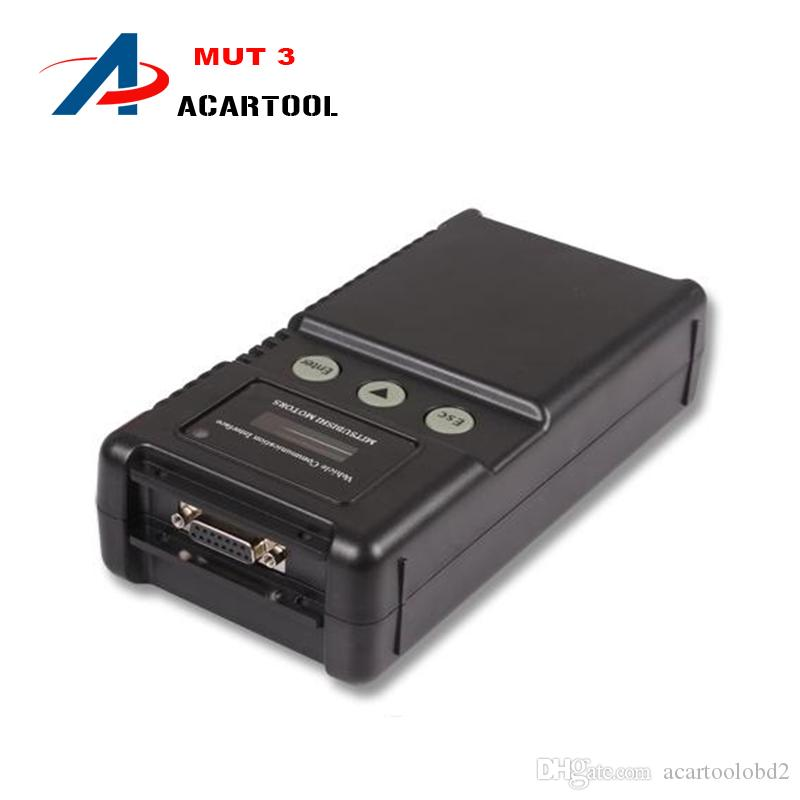 다국어 미쯔비시 MUT-3 스캔 툴 DHL 프리 미쓰비시 MUT3 MUT 3 미쯔비시 자동차 및 트럭 진단 툴용