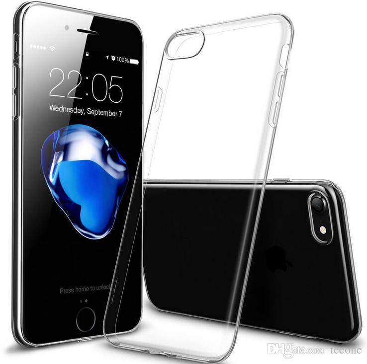 Iphone 7 Case Soft TPU Back Cover Phone