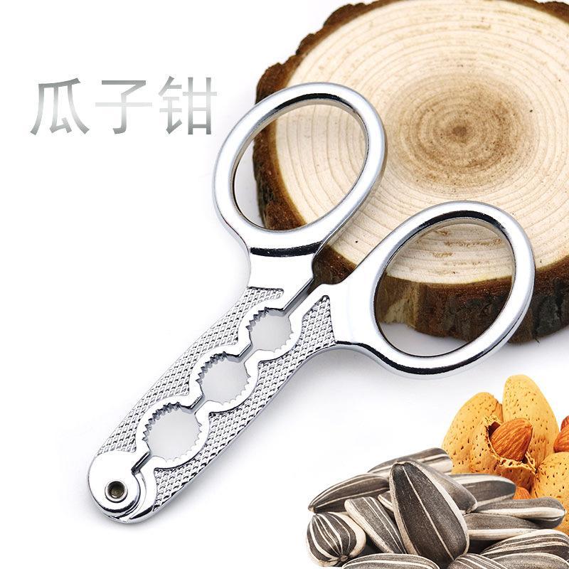 Подлинная цинковый сплав семена подсолнечника зажим орехи Шеллер небольшой клип завод прямые оптовые подарочные продукты