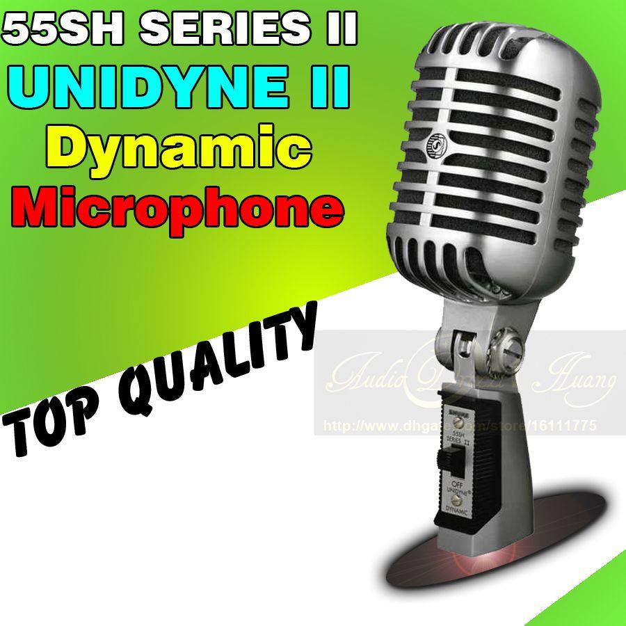 Microfoni da studio professionali cablati Microfono dinamici per karaoke vintage Mike per KTV Stage Karaoke Microfono Microfono Old Style Microfono Old Style