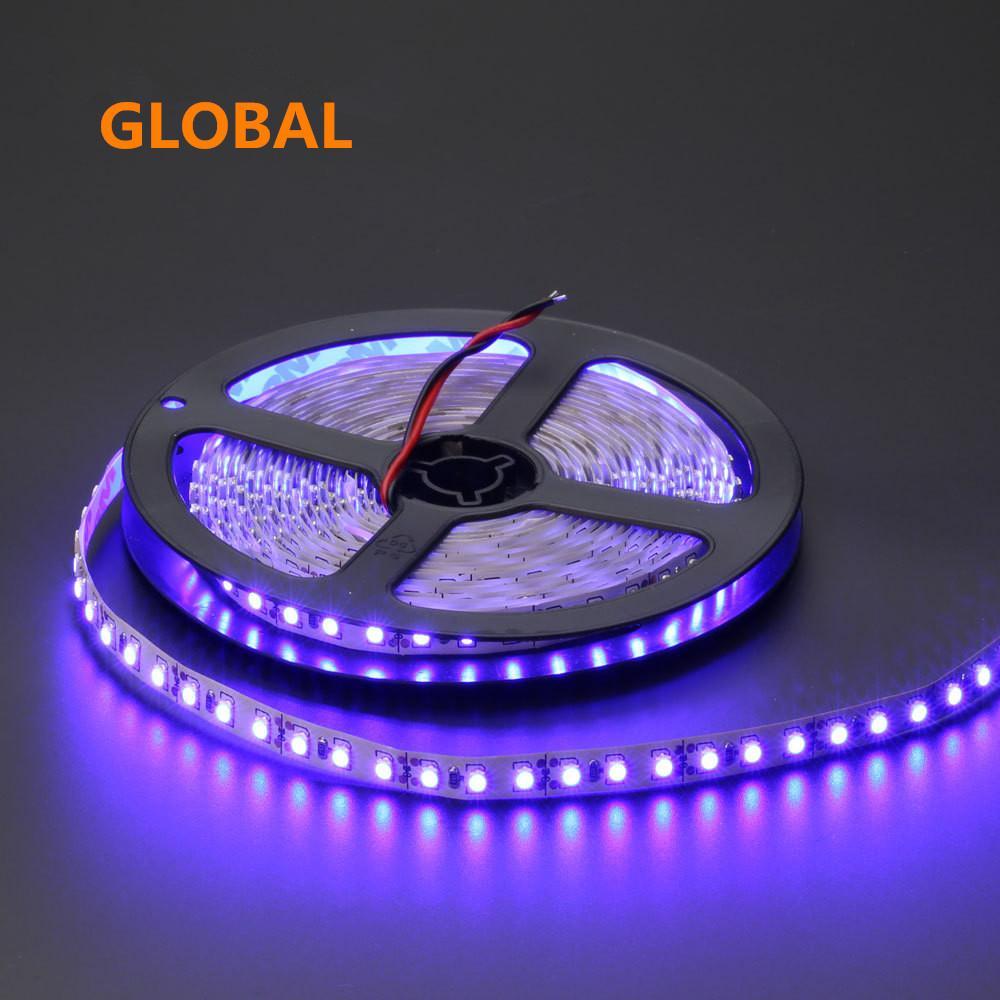 뜨거운 판매! 5M / lot IP65 방수 3528 600 LED 스트립 빛 리본 테이프 슈퍼 밝은 120led / m 따뜻한 흰색 차가운 흰색 파란색 녹색 빨간색 LED 스트라이프