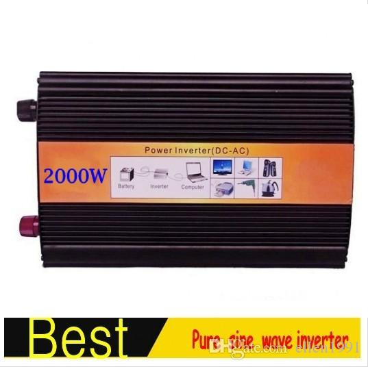 Pure Sine Wave Power Inverter 2000W DC 12V NAAR AC 220V 230V 240V DC AC POWER CONVERTER / 12VDC NAAR 110VAC GRATIS VERZENDING
