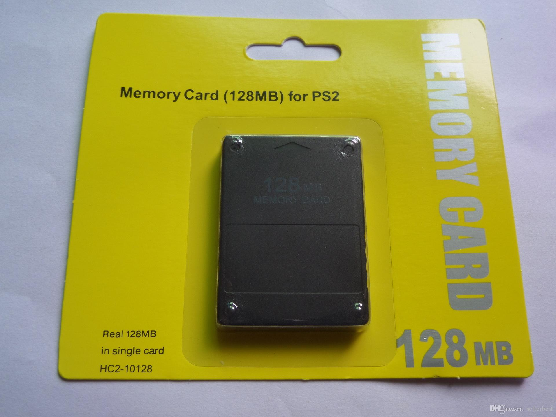 Brand New HC2 10020 Memory Card For PS2 For Playstation 2 For PS 2 128MB  128M 64MB 8MB 16MB 64M 8M 16M 32MB 32M 256M 256MB With Retail Box External