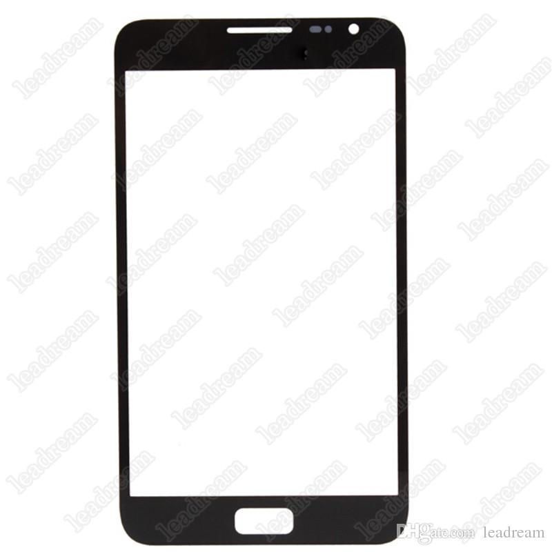 Front Outer Touch Screen Glass Cover Replacement for Samsung Galaxy Note 1 N7000 i9220 Black White