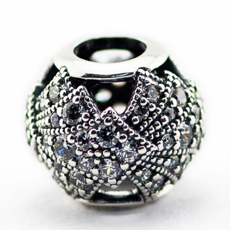 Oriental Fan, CZ libera 2016 Estate 100% 925 Sterling Silver Beads Charms Fit Pandora Bracelet monili del branello di modo DIY Authentic