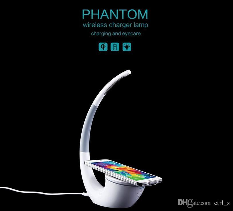 Nillkin Outlets High-technology Wireless Charger Phantom Table Lamp Wireless Life Infinite Freedom Eyecare Phone Power Charger for iphone 7