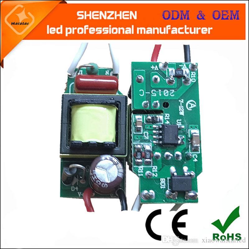 (7-12) x 1 W 7 w 8 w 9 w 10 w 11 w 12 w levou constante atual driver LED Driver Lâmpada de Alimentação de Transformadores de Iluminação