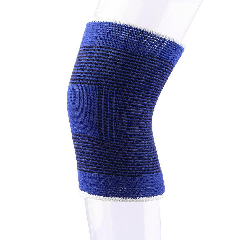 Il rilievo respirabile elastico morbido del supporto del protettore del ginocchio del sostegno di rinforzo di 2 Pc morbidezza libera il trasporto