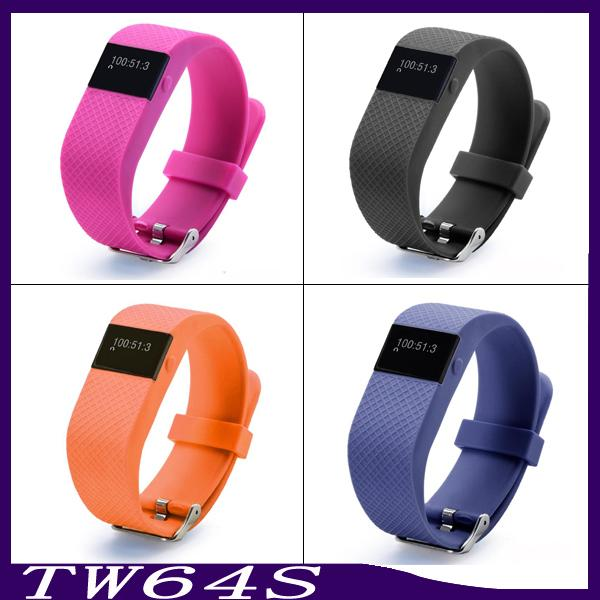TW64S Smart Bracelet with Heart Rate Tracker Waterproof Bluetooth Smart Watches Sports Wristband Fitness Smartband Pedometer 6500022