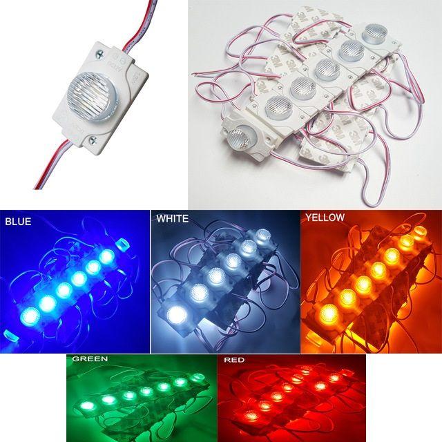 Led Açık Pencere LED Projesi Vitrin Camı Işık Setleri 2W 200 Lümen kanal işaretleri için / ışık kutuları için 3030 Su geçirmez Modülü