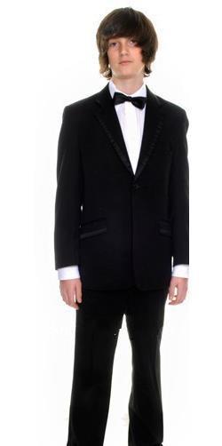 new black page boy suit Vestito da matrimonio da ragazzo Vestito da occasione formale da ragazzo smoking personalizzato (giacca + pantaloni + gilet + cravatta)