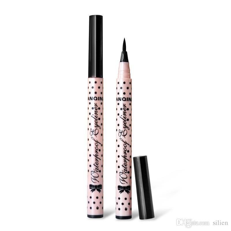 Wholesale- Cosmetic Women Beauty Makeup Black Eyeliner Waterproof Long -lasting Liquid Eye Liner Pencil Pen Make Up Tools Free Shipping