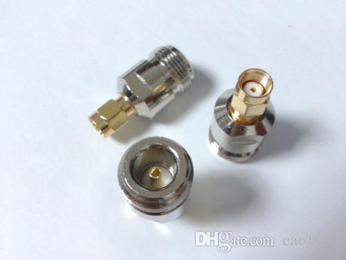 2pcs x adaptador SMA-N RP-SMA conector hembra a N Jack adaptador recto femenino
