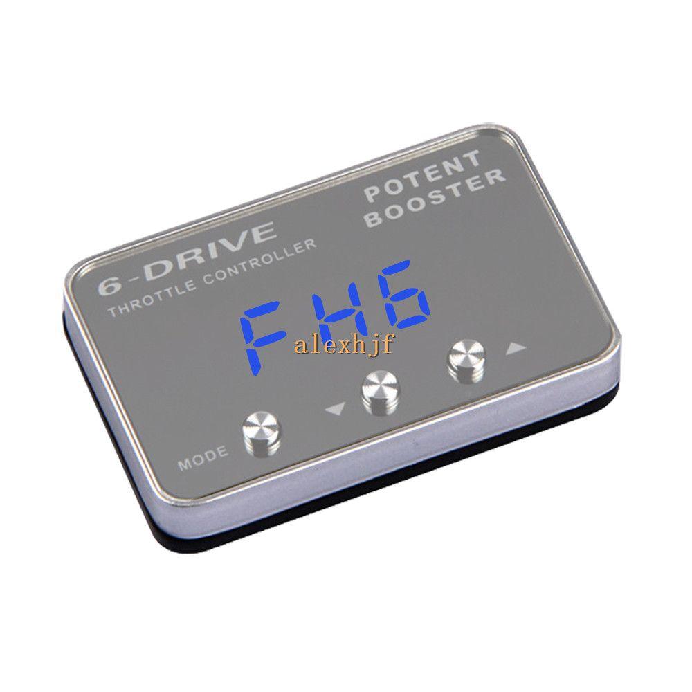 강력한 부스터 II 6 드라이브 전자 스로틀 컨트롤러, 차량용 스로틀 컨트롤러 TS-201L 폭스 바겐 골프 용 케이스 7th 2013 ~ ON