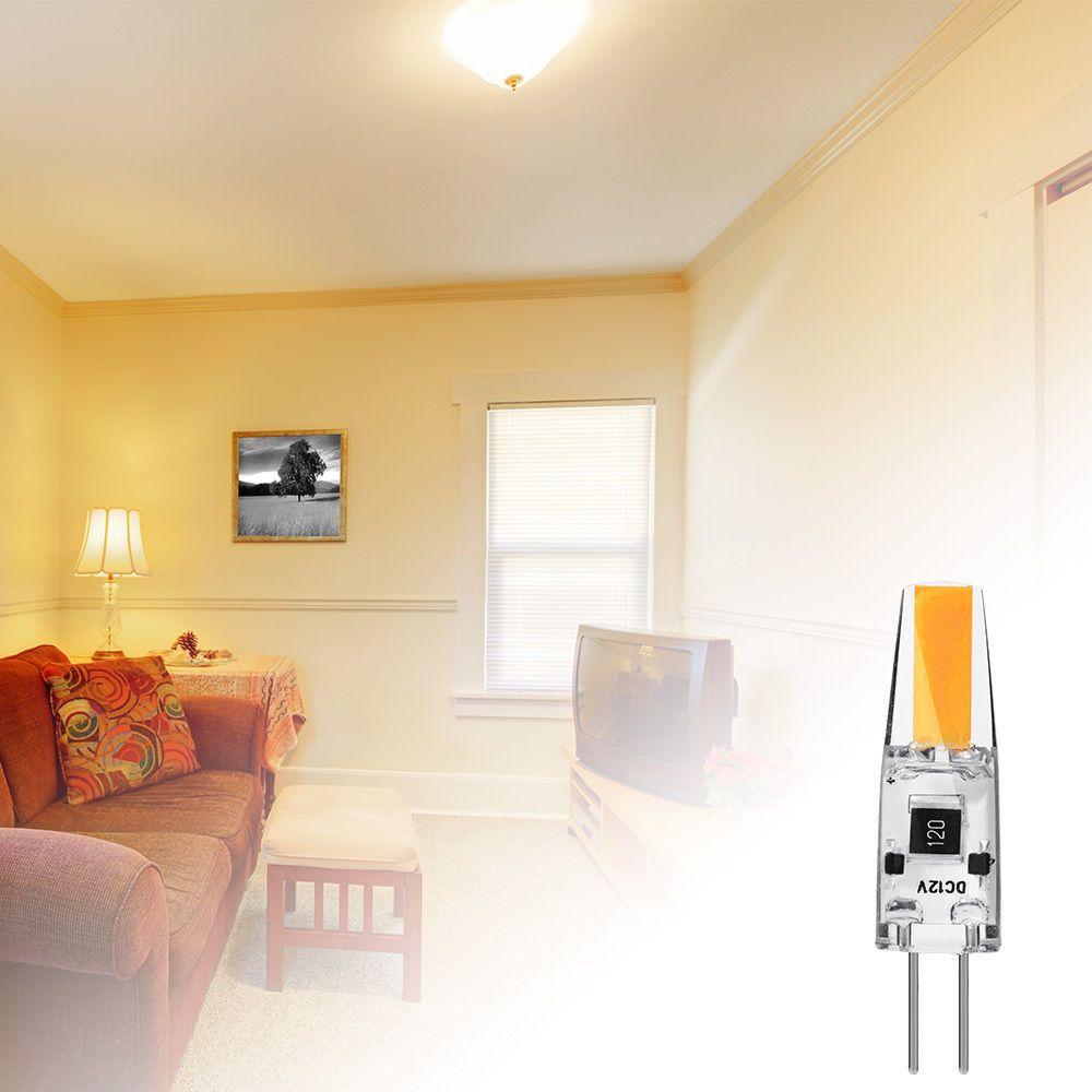 G4 LED Bombilla halógena 12V 20W reemplazo de AC / DC Bi Pin 2700K caliente de la lámpara blanca T3 G4 Base ligera llevada 2W 210LM