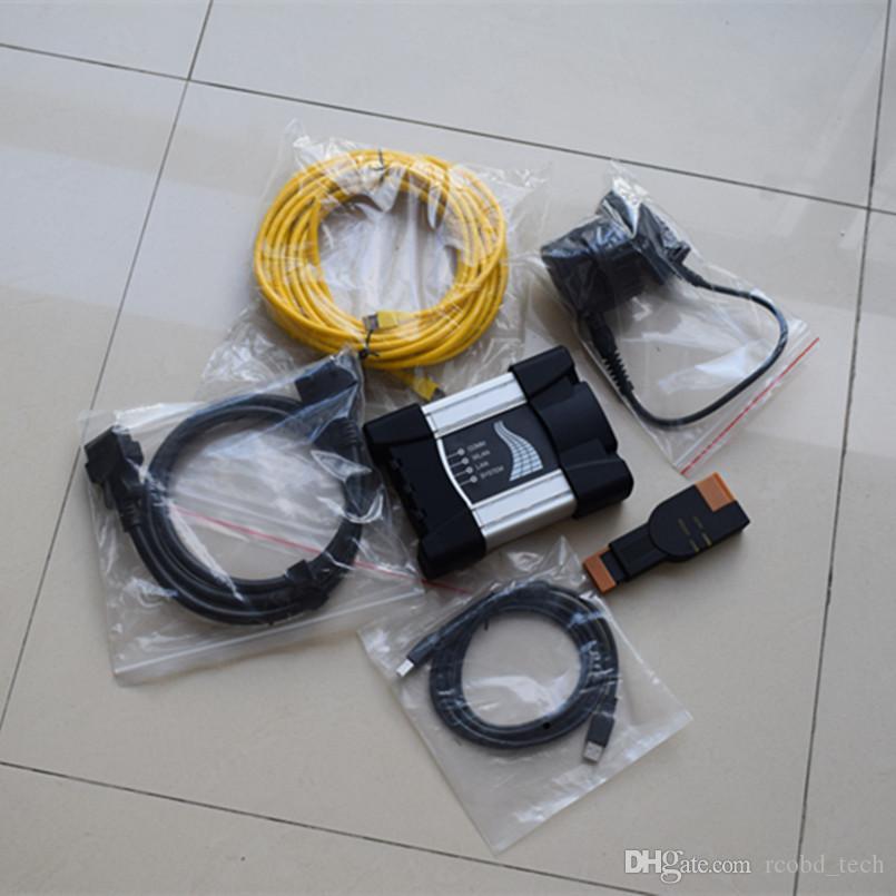 Pour BMW ICOM Next A + B + C Outil de programmation de diagnostic Deux ans Garantie sur la vente Cables Full Super