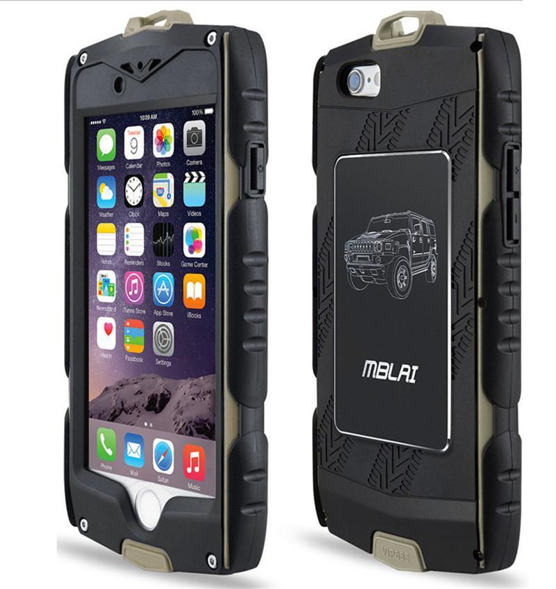 Custodia Armatura Ibrida MB Heavy Duty IPhone 6 6S Plus Con Protezione Schermo Integrata Resistente Allacqua DHL SCA129 Da Superbestway, 7,57 €   ...