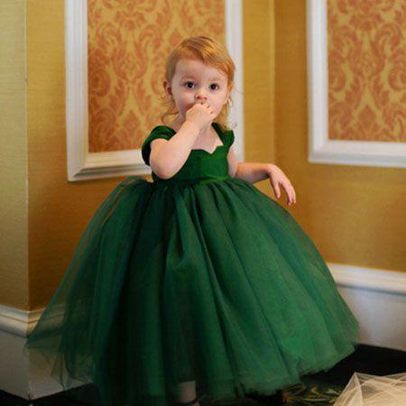 Nf1 2018 Fashionable Flower Girl Dresses For Weddings Girls Pageant ...
