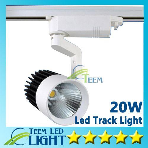 CE RoHS LED lumières En Gros Au Détail 20W COB Led Piste Lumière Murale Applique Murale, Suivi Soptlight led AC 85-265V éclairage Livraison gratuite 50