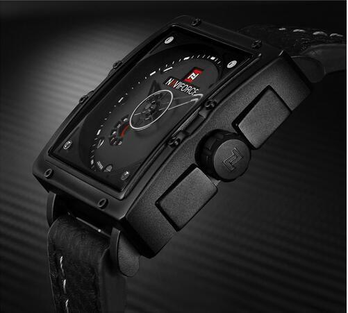 남자 방수 남자 시계 방수 시계 시계 주 군대 군사 멋진 블랙 남성용 야외 스포츠 캐주얼 스퀘어 손목 시계