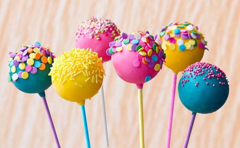 Colorful Cake Pop Lollipop Stick Paper Lollypops Candy Chocolate Sugar Pen Dessert Decoration Tools Bakery Accessories 10CM, Cake Pop Lollipop Stick (1)