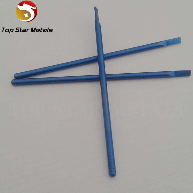 Color azul Gr2 Titanium Concentrado Dabber