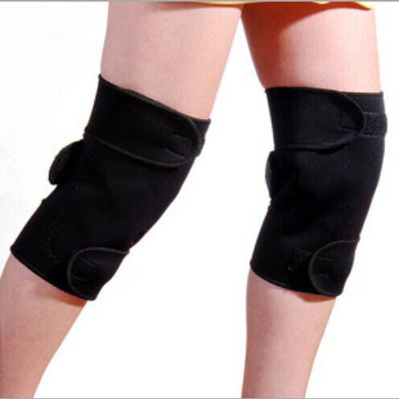 1 Paar Turmalin Selbsterhitzung Kniepolster Magnetfeldtherapie Knie Unterstützung Turmalin Heizband Knie Massagegerät