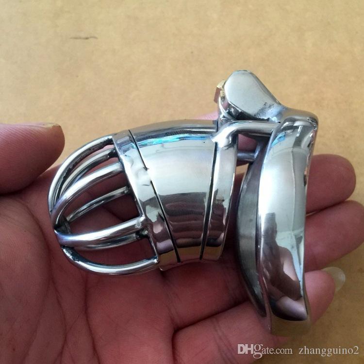 Nuevo Súper Pequeño Juguetes Chastity 40mm 50mm 45mm Cock Cinturón Dispositivo BDSM Catéter uretral inoxidable Cause sexual masculino con castidad de acero Adulto Fxor