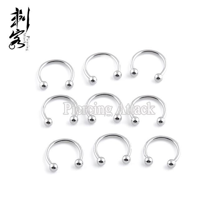 2020 Wholesale 16 Gauge Body Piercing Jewelry 316l Surgical Steel