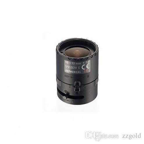 Tamron 12VM412ASIR 1/2 Objectif à monture C infrarouge manuel 4-12mm F / 1.2