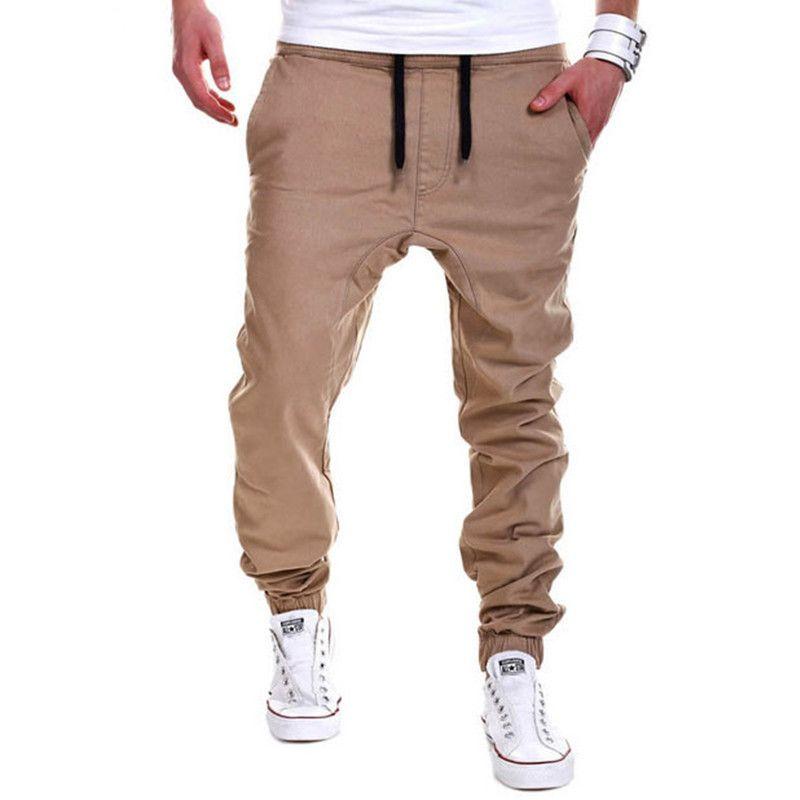 2021 Wholesale Mens Joggers Pants Men Hip Hop Drop Crotch Sweatpants Harem Pants Hipster Trousers Men Pantalones Hombre From Zhiteng 23 43 Dhgate Com