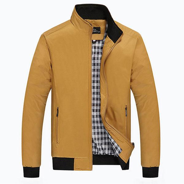 Wholesale Men Checker Outwear Overcoat Coat Parka Zip Up Trench Coats  Jackets Casual Fashion Jacket New Arrival Red Leather Jacket Black Jackets  From