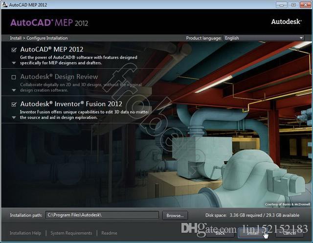 Autodesk AutoCad MEP 2012 64 bit