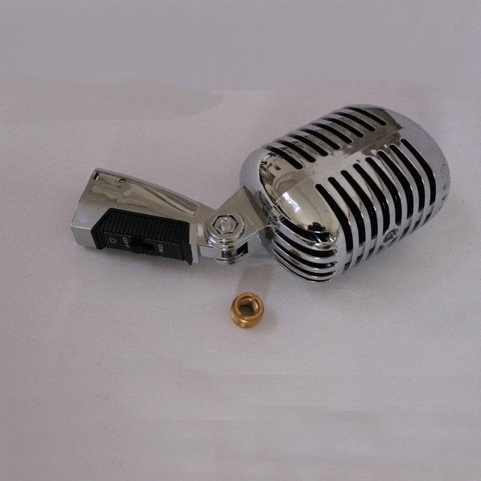 Professionale vecchio stile vocale Speech annata classica microfono Wired dinamico Retro Mic Mike Microfone
