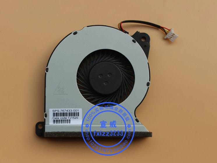 HP ProBook 450 G2 MF60070V1-C350-S9A 용 새 원본 노트북 냉각 팬 767433-001