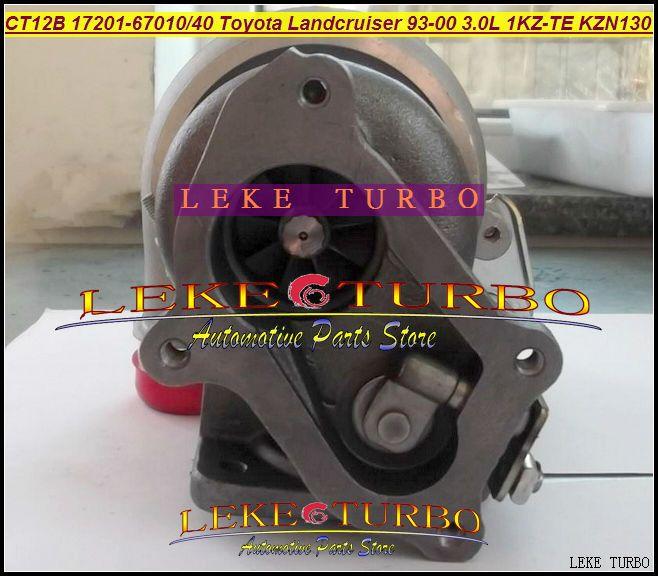 CT12B 17201-67010 17201-67040 TOYOTA LANDCRUISER 1KZ-TE 125HP HI-LUX KZN130 4 Runner 1993 3.0L D turbocharger