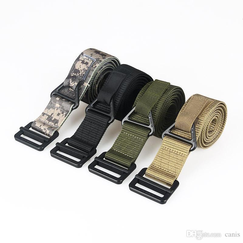 Cinture tattiche regolabili multiuso regolabili da uomo Cintura per la sicurezza della cintura per la caccia all'aperto Wargame CS Accessary CL11-0019