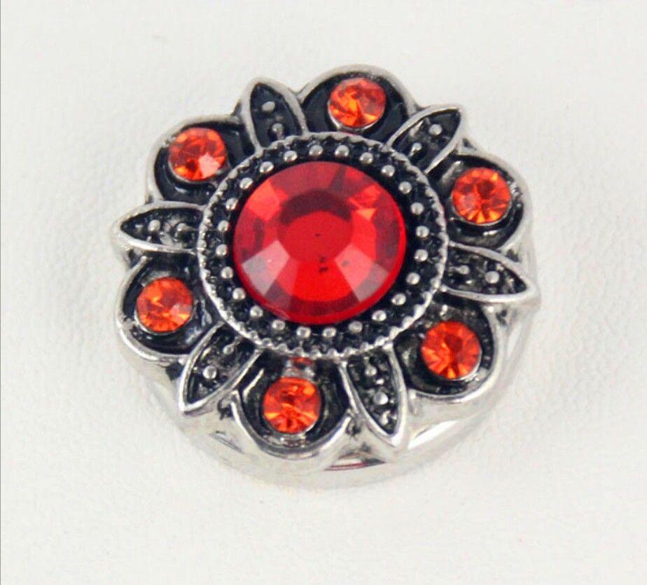 10 pcs 20mm noosa pedaços botão cor antiga diamante botão de colar de flores snap botão de metal diy personalidade charme pulseiras acessórios