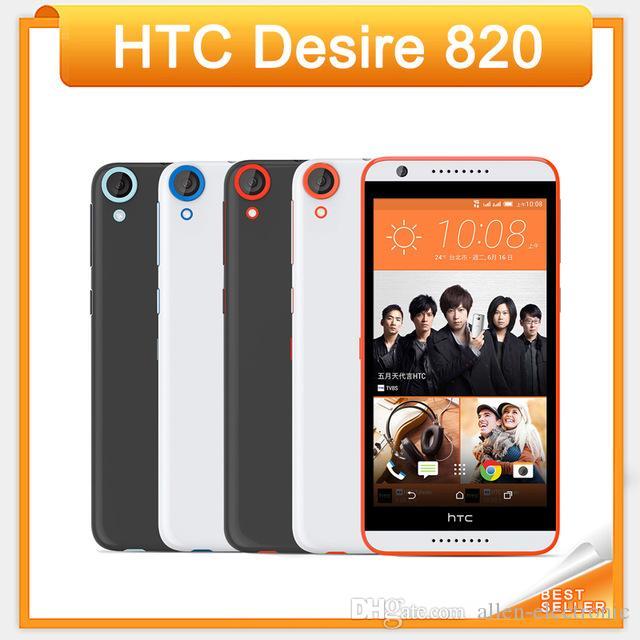 """Original htc desire 820 desbloqueado 4g lte telefone celular 5.5 """"touchscreen 2 gb ram 16 gb rom 13.0mp câmera android 4.4 celular"""