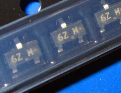 50 PZ Spedizione Gratuita Fai Da Te Elettronica MMBF170LT1G MOSFET N-CH 60 V 500MA SOT-23 170 MMBF170 MARKING 6Z