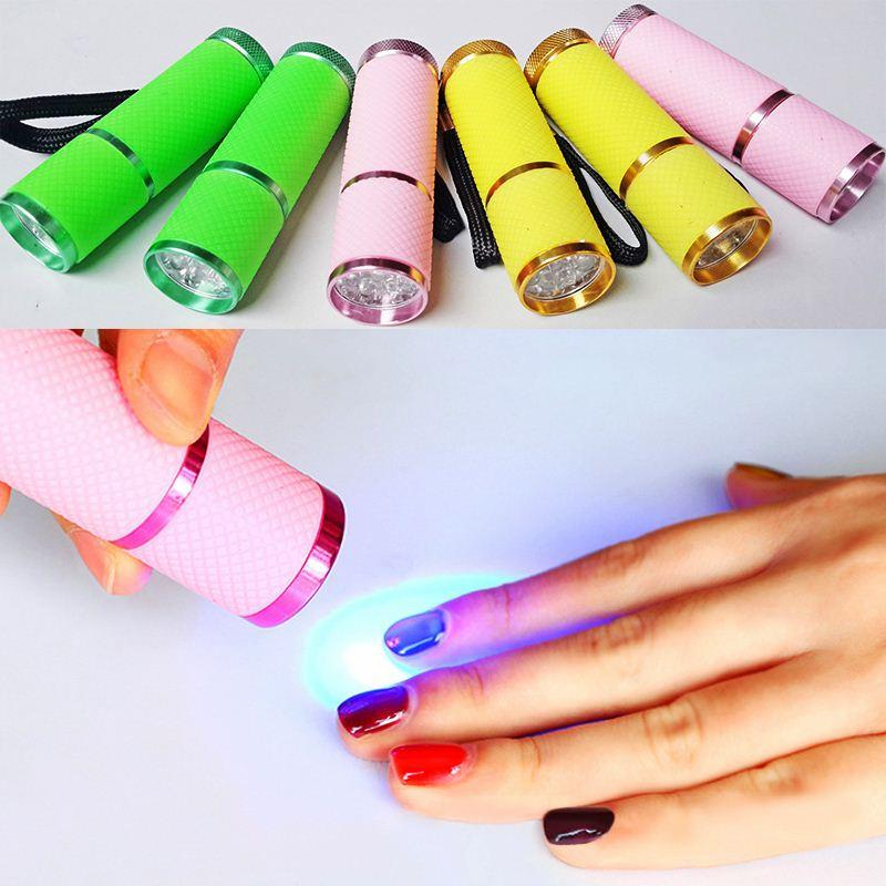 New 9LED light mini nail polish convenient upscale high-end fashion LED light therapy lamp